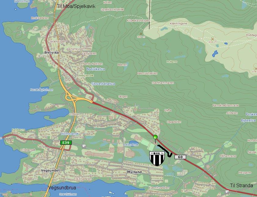 kart til BIL